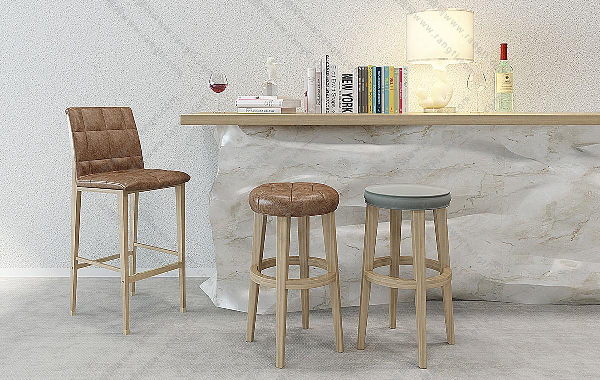 北欧吧椅、吧凳3D模型