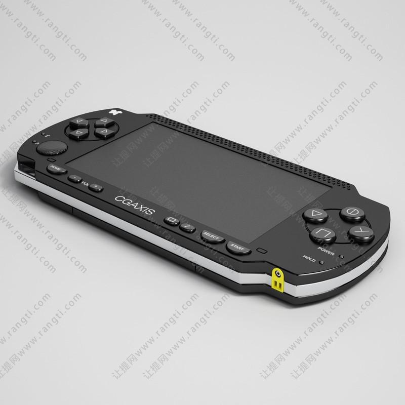 手柄游戏机、一体机3D模型