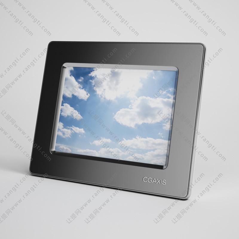 平板可支撑mini显示屏3D模型