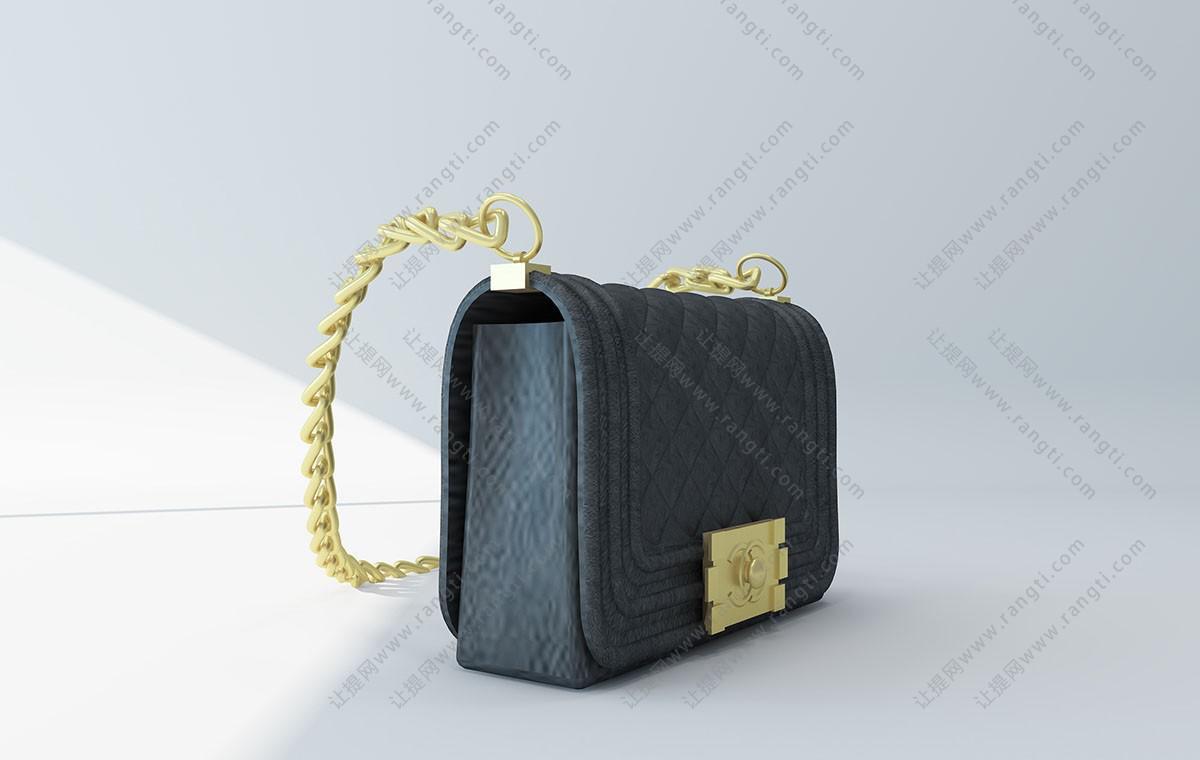 现代女士皮包、手包3D模型